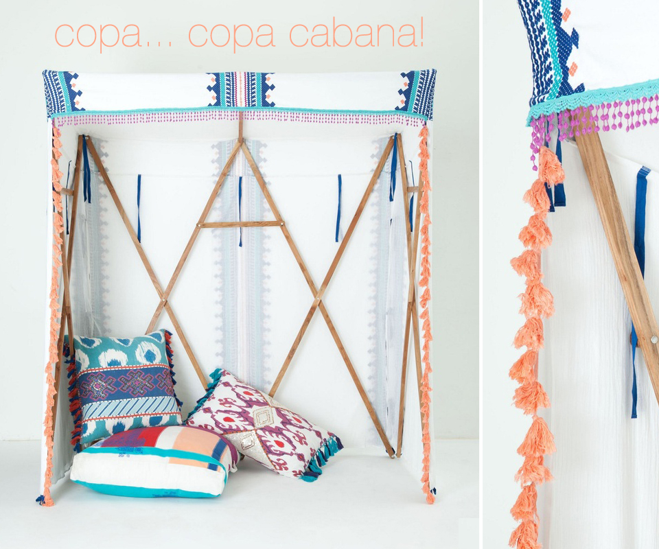 cabana from Anthropologie