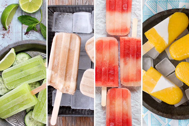 popsicles, recipes, popsicle recipes, round up, jojotastic