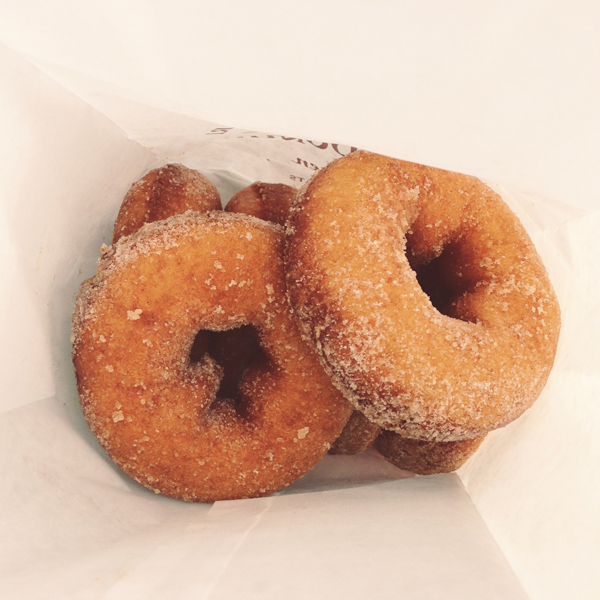 the best part of fall - apple donuts!