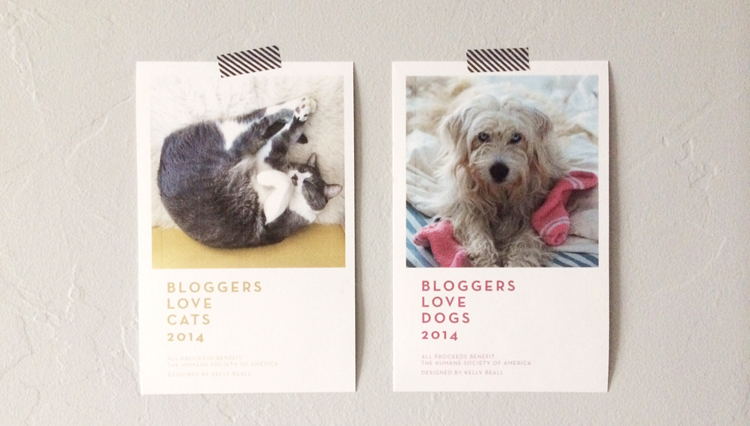 Bloggers Love Cats and Bloggers Love Dogs: A Calendar Fundraising Project! All proceeds go to The Human Society