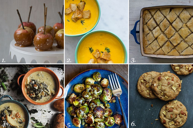 fall recipes round up
