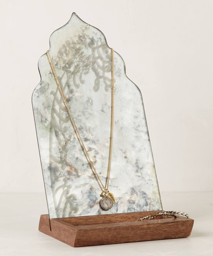 Fern-Reflection Jewelry Stand from Anthropologie