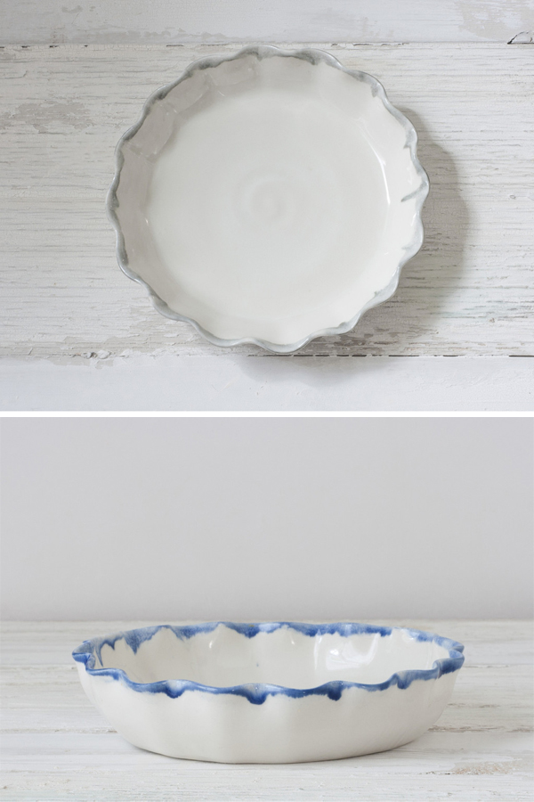 pie plates from Suite One Studio