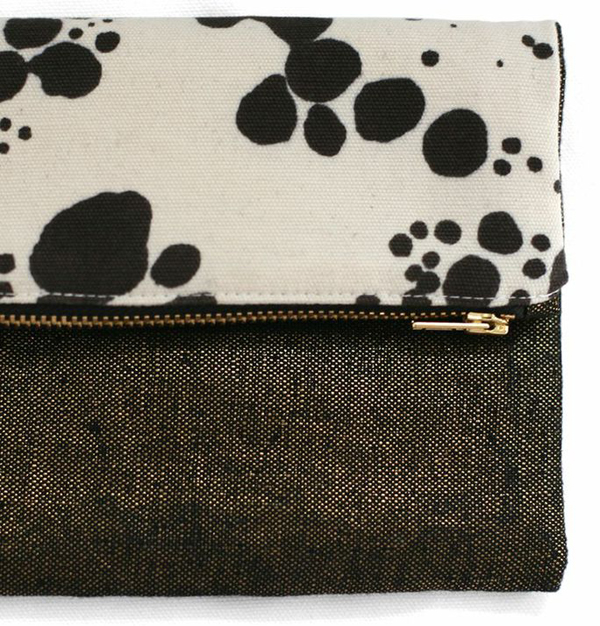 the zip pouch from Rebecca Atwood
