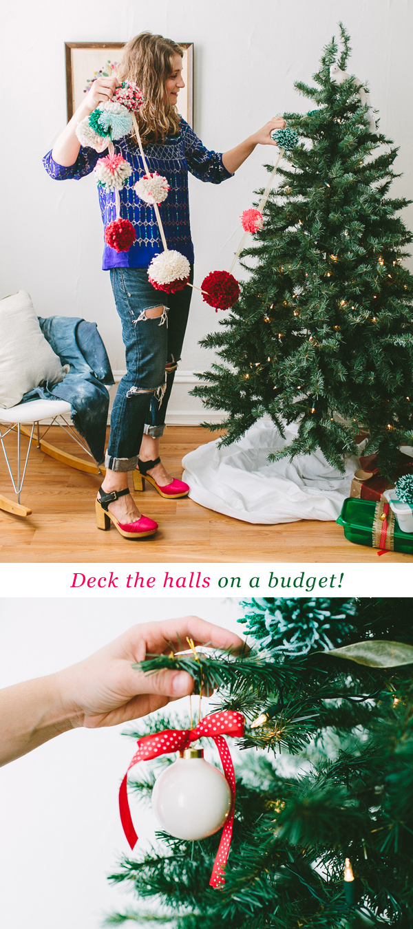 Decking the Halls on a Budget // www.jojotastic.com #ziploc #holidaycollection