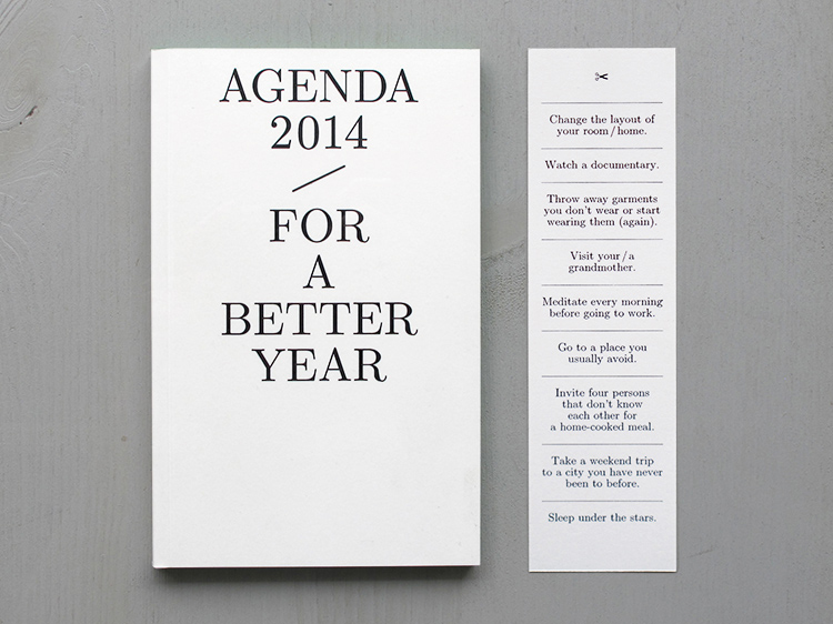 agenda 2014 – For a Better Year // www.jojotastic.com