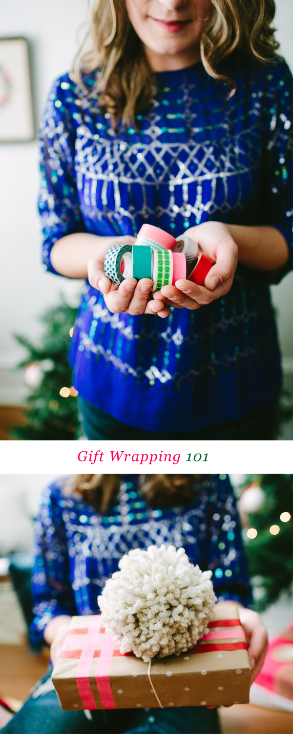 Gift Wrapping 101 #ziploc #holidaycollection
