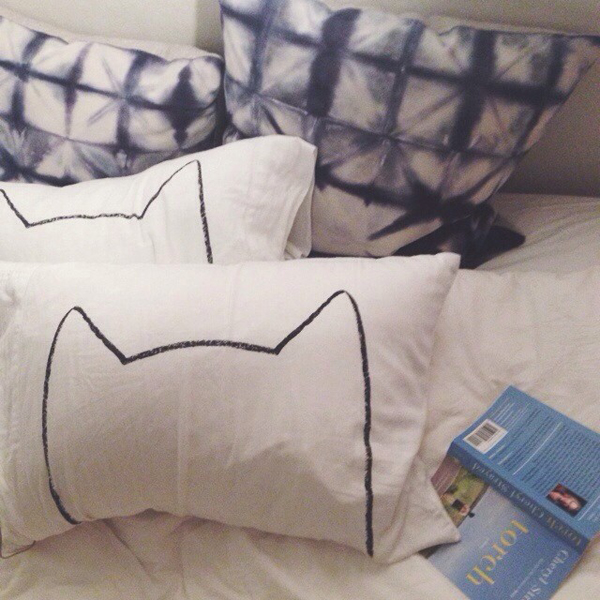bedding from Xenotees and Rebecca Atwood