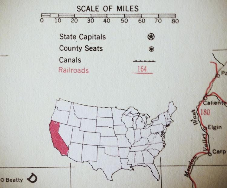 vintage atlas