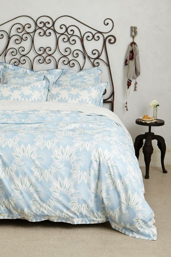 honeyed fleur duvet from Anthropologie // www.jojotastic.com