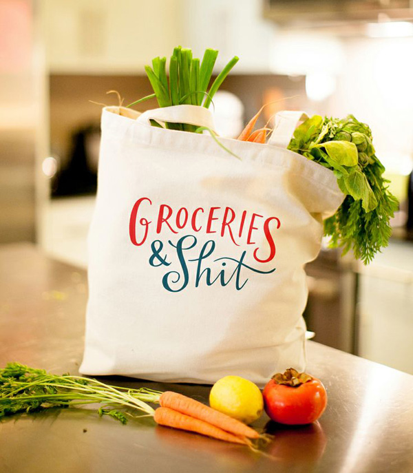 the perfect grocery bag?