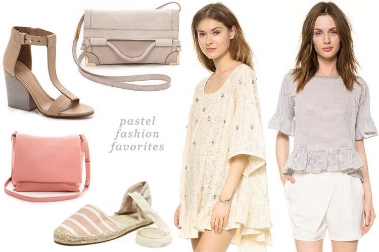 pastel fashion favorites