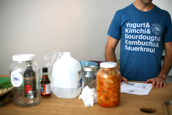 skill exchange in SF // how to make kimchi