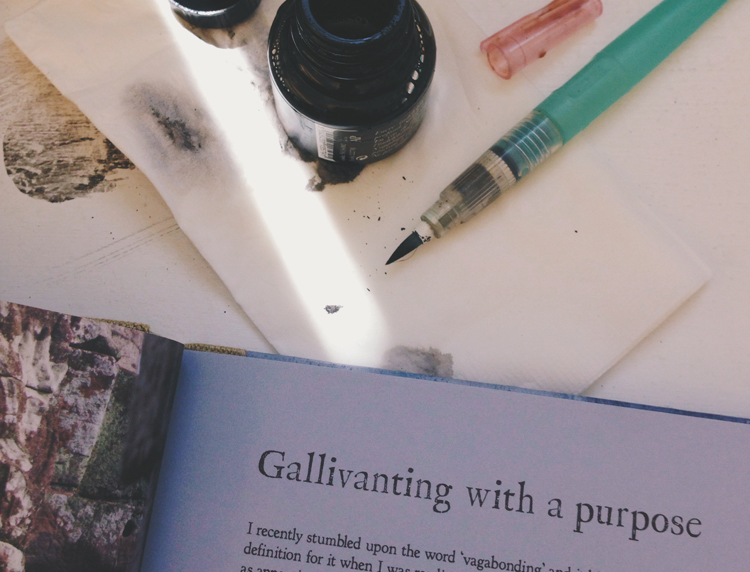 this weekend: gallivant with purpose