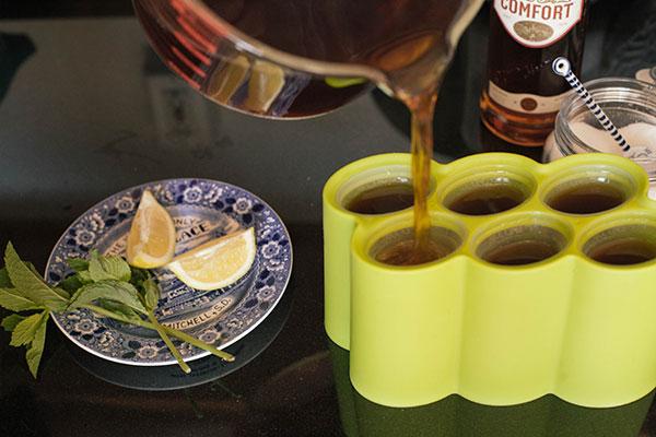 spiked sweet tea popsicles #popsicleweek