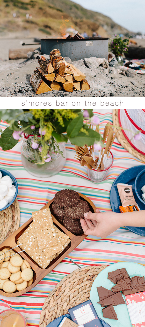build your own s'mores bar // www.jojotastic.com #destinationsummer #kohls