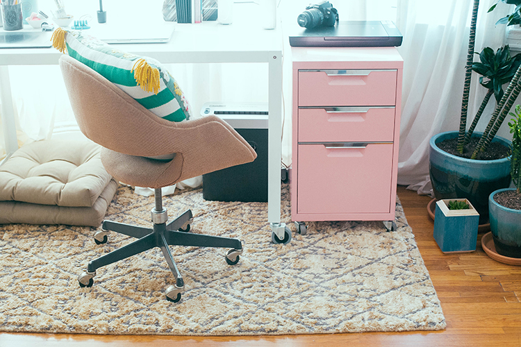 my home office + a rugs direct giveaway (head to jojotastic.com for more details) #giveaway