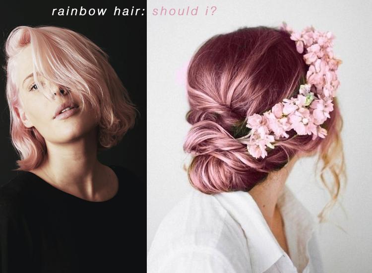 the rainbow hair trend - should i??