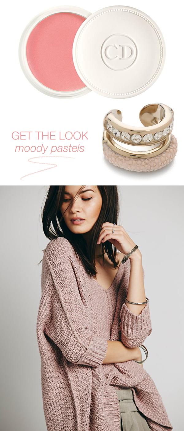 get the look // moody pastels