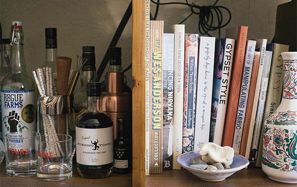 booze + books
