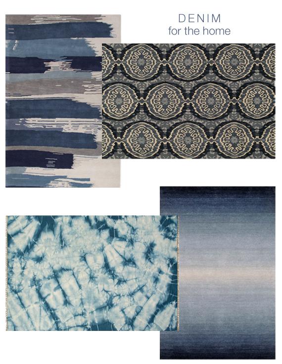 denim-inspired rugs