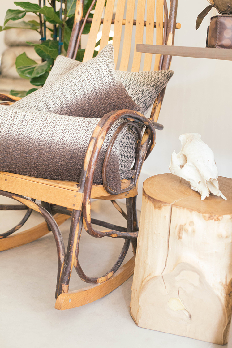 rustic and refined home decor