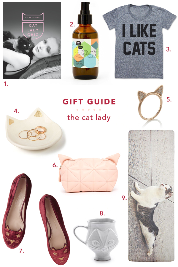 the perfect gifts for your favorite cat lady - jojotastic
