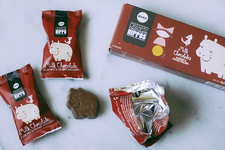 the amazing candy packaging of Holland - fun chocolate hippos