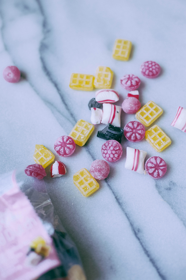 the amazing candy packaging of Holland - cute and colorful hard candy