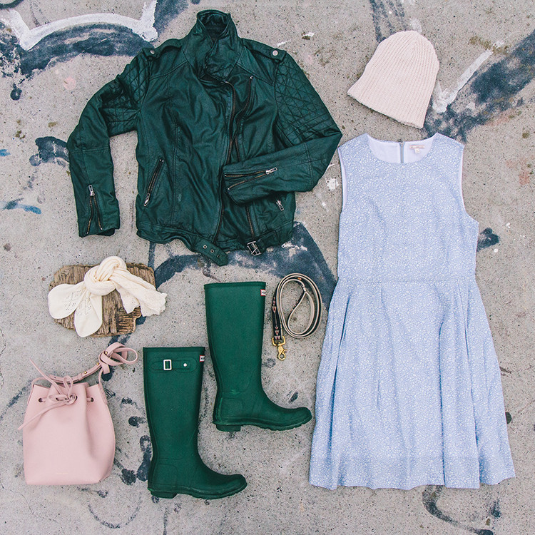 a spring day on the beach @gap #styldby