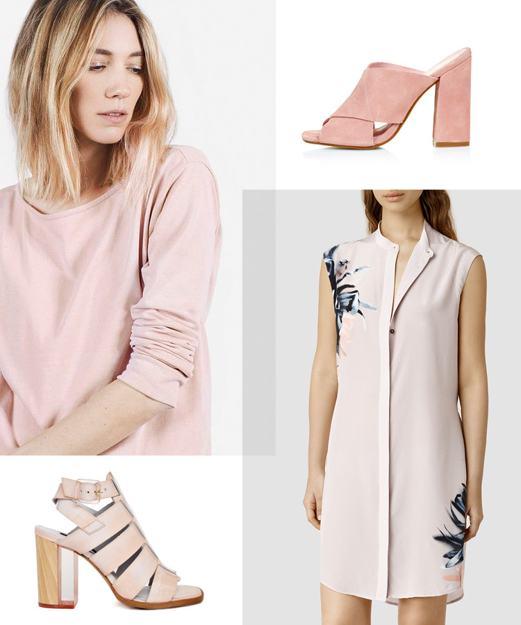 get the look: blushing beige