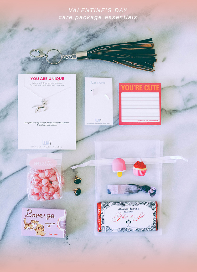 valentine's day care package for your bestie + $10 off your first shipment using the Shyp app, now available in SF, NYC, Miami and soon LA
