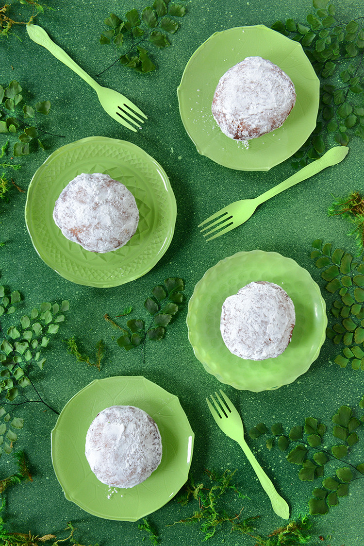 donut o' the month: irish coffee custard donuts (gluten-free) recipe