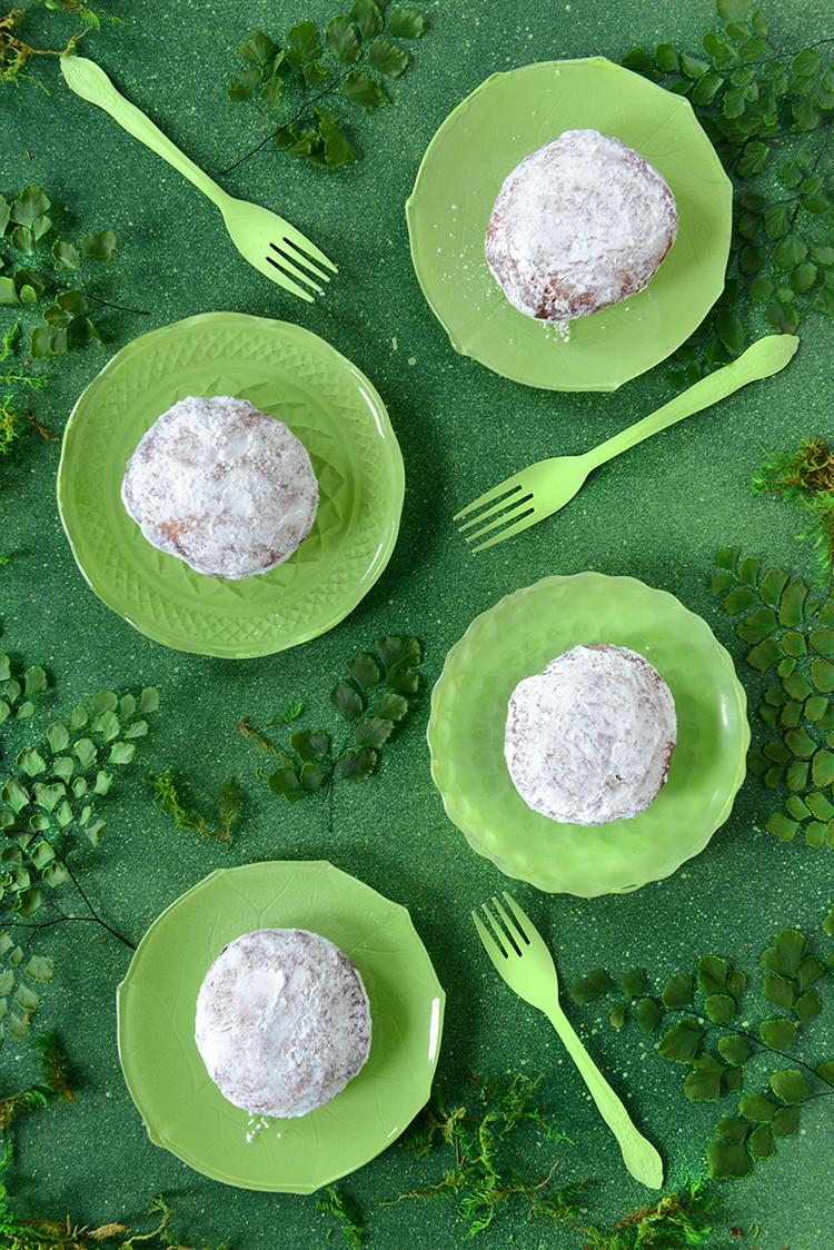donut o' the month: irish coffee custard donuts (gluten-free) recipe