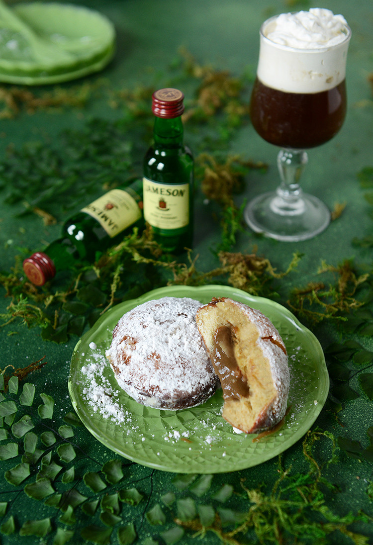 donut o' the month // irish coffee donut