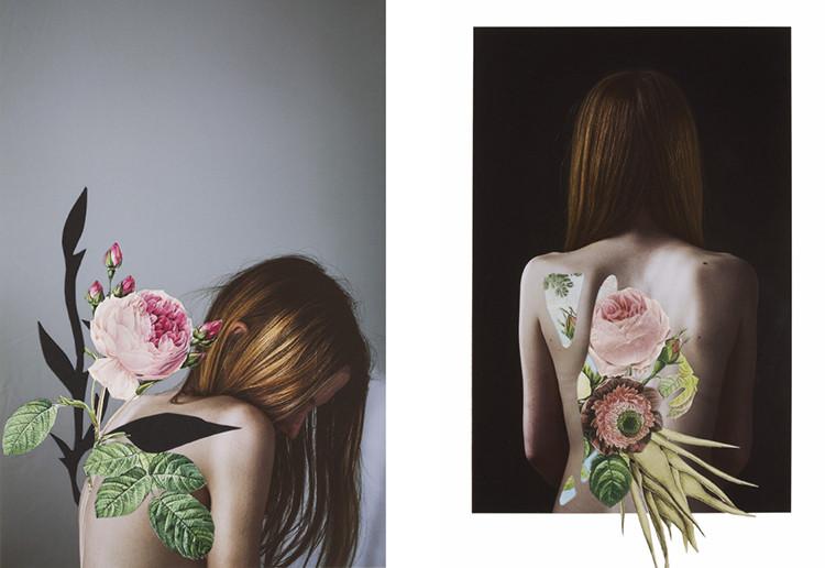 collage artwork by Rocio Montoya