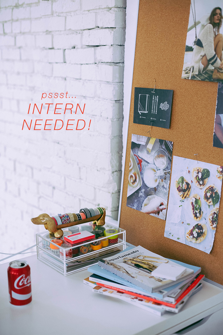 join the @jojotastic team — i'm hunting for an intern!