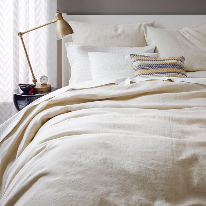 Target White Bedding With Gold Buttons