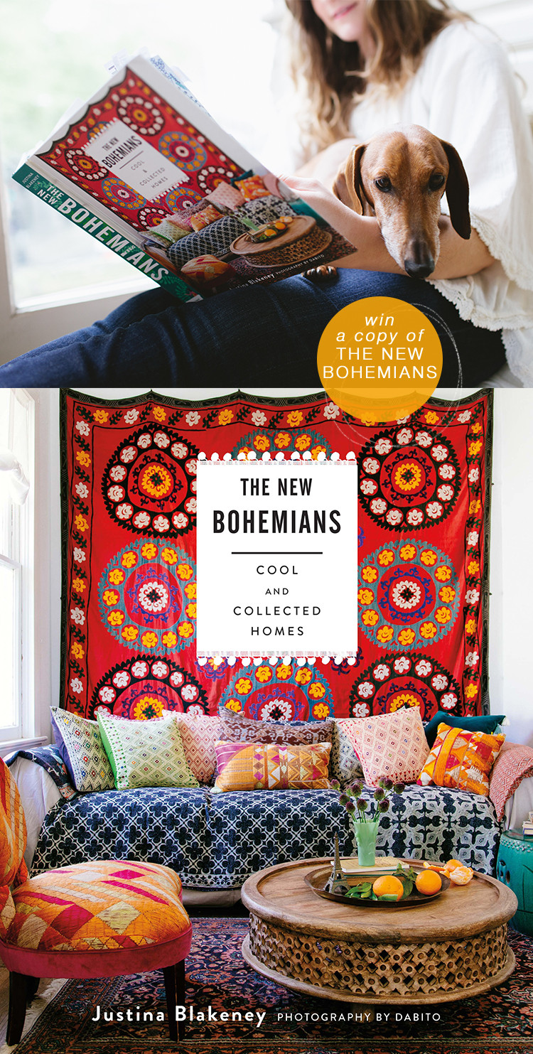 enter to win a copy of The New Bohemians by @justinaBlakeney #giveaway