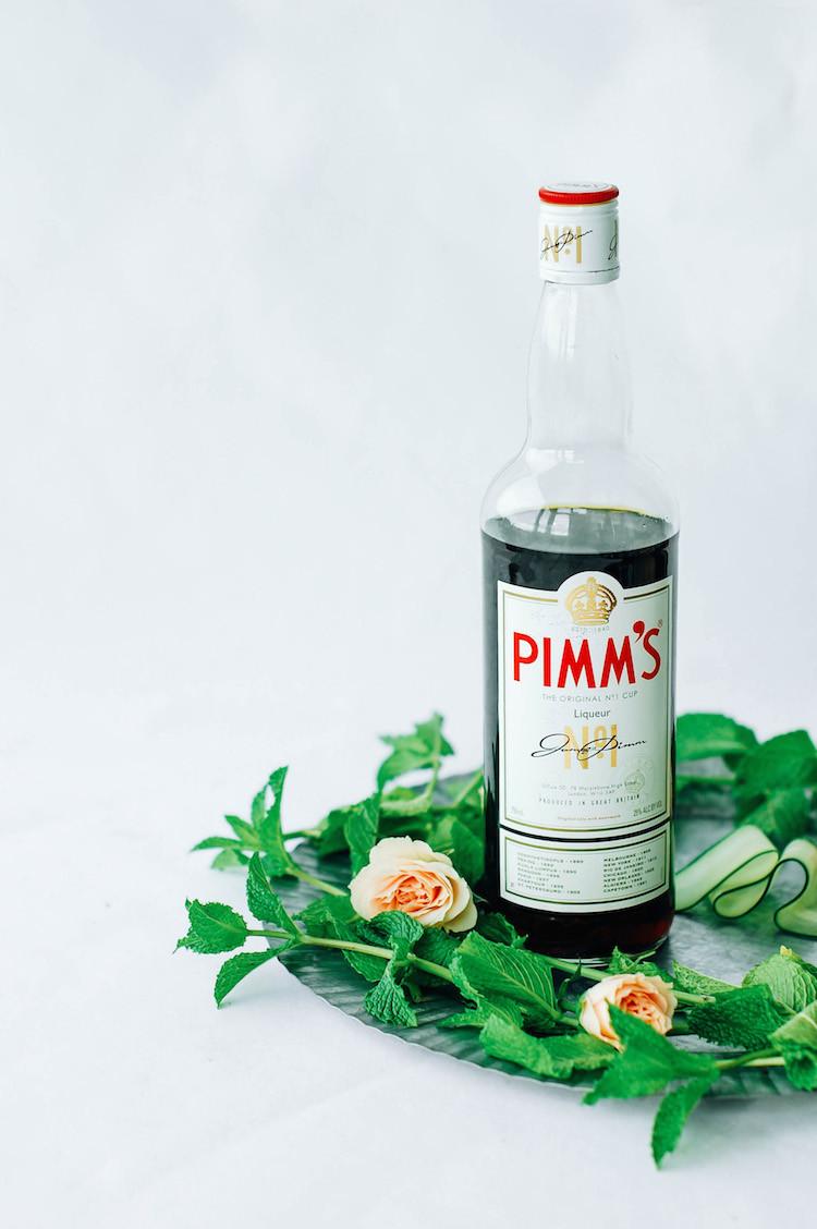 portrait of a cocktail // the pimm and proper recipe jojotastic.com