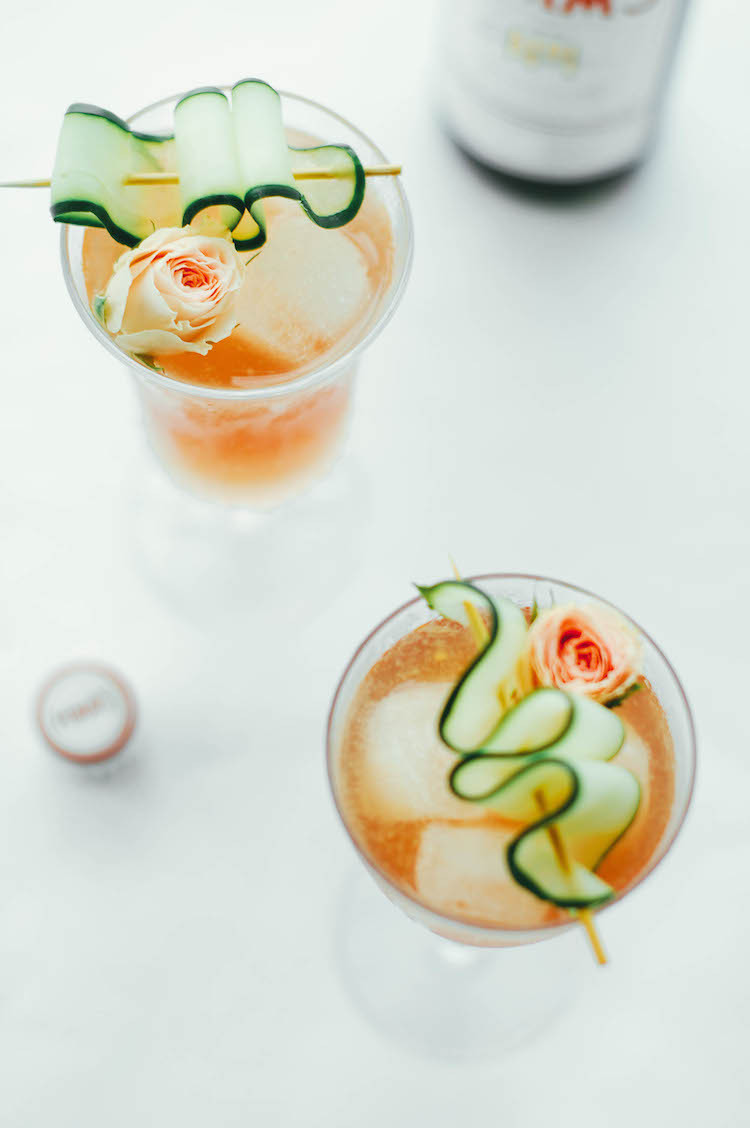 portrait of a cocktail // the pimm and proper recipe jojotastic.com