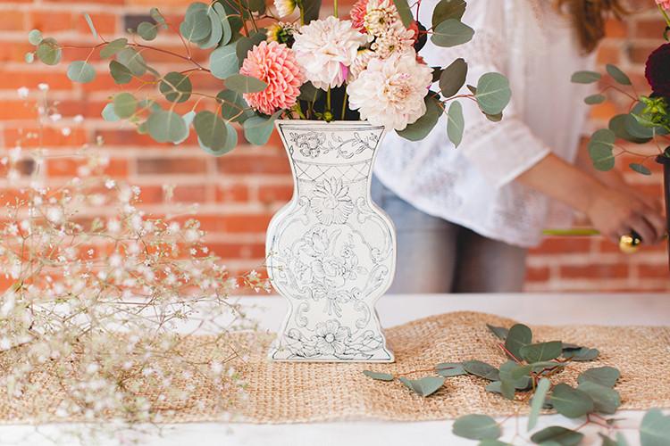 shoulda been a florist // sunset hued dahlias jojotastic.com @jojotastic
