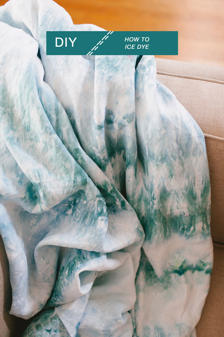 How To Ice Dye
