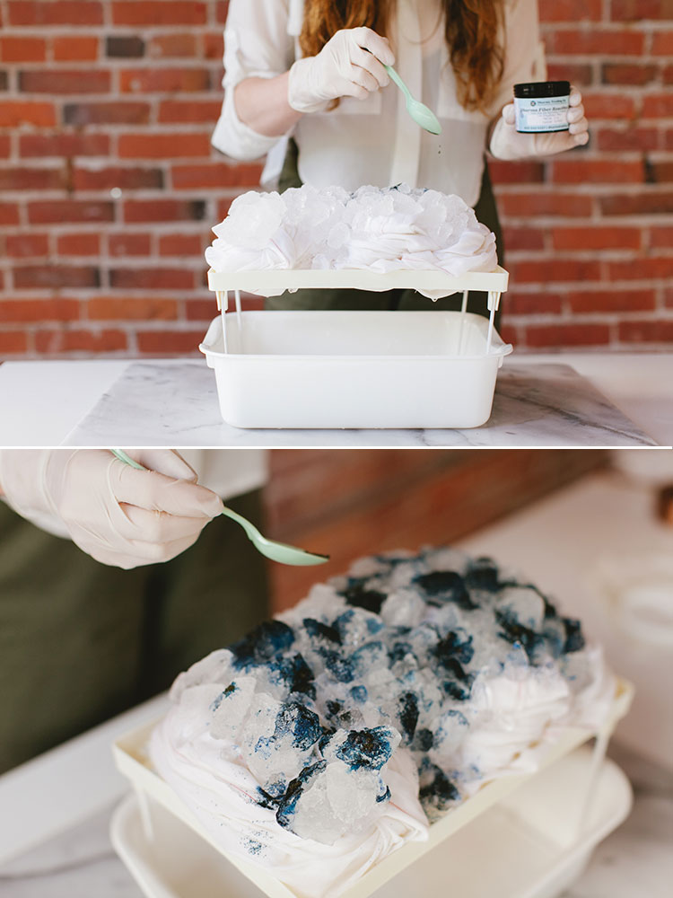 DIY // how to ice dye jojotastic.com