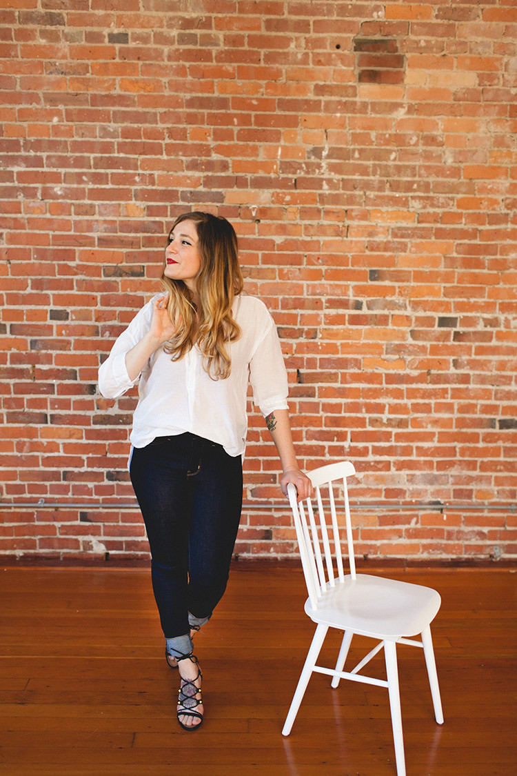 STYLE // beyond basics with Levi's + Zappos // jojotastic.com @levis @zappos #ladiesinlevis #zapposstyle