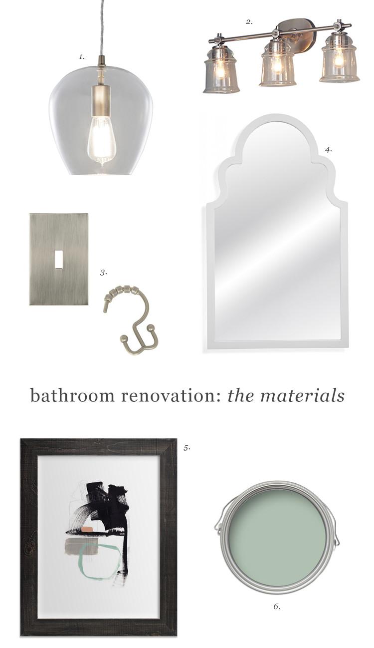 one room challenge // loft bathroom jojotastic.com #oneroomchallenge