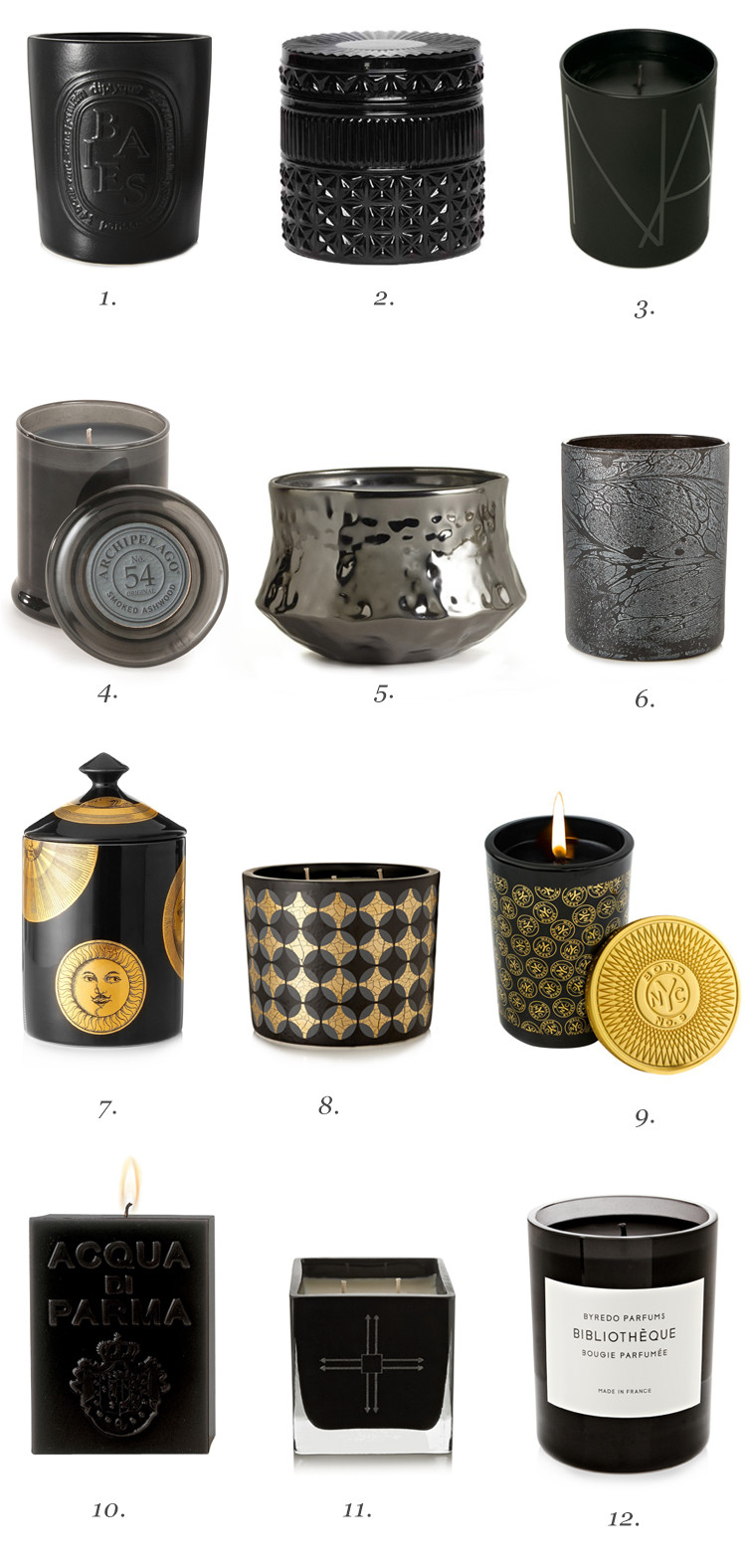 i have this thing with black candles // jojotastic.com @jojotastic