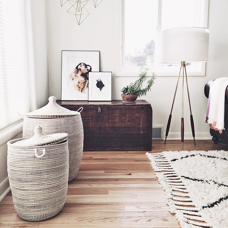 My Hunt For A Stylish Laundry Basket