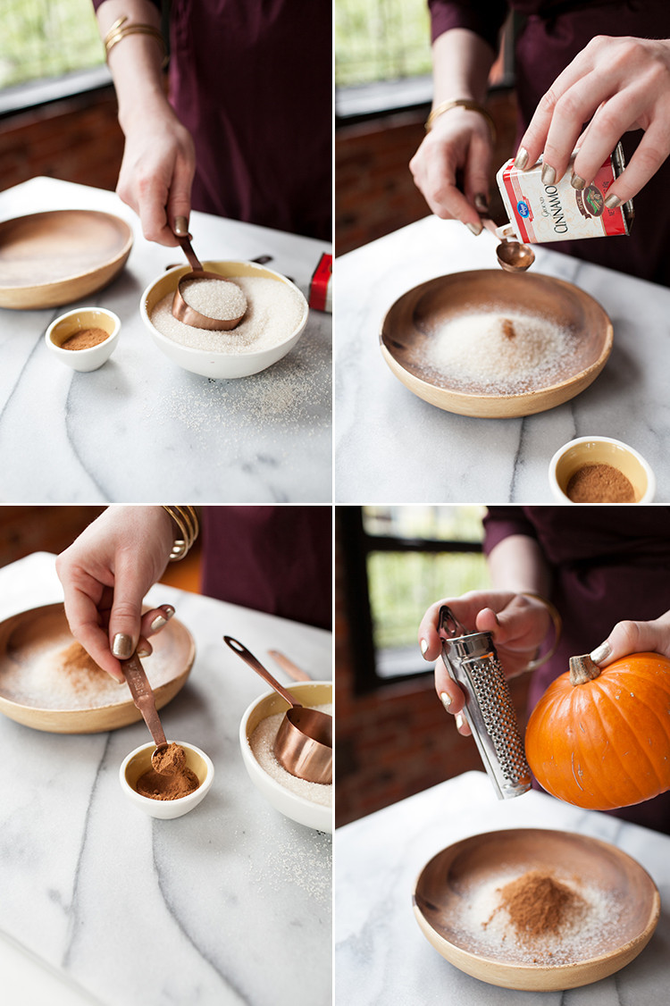 RECIPE pumpkin cinnamon rimming sugar // jojotastic.com