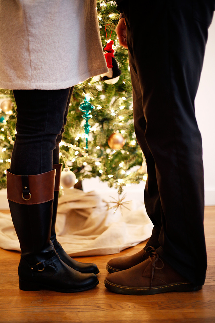 STYLE // his and hers holiday style + Shoe Carnival // jojotastic.com @shoecarnival #shoecarnival